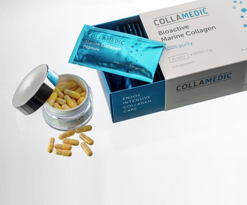 Bioaktivní mořský kolagen Collamedic – dárková sada de luxe