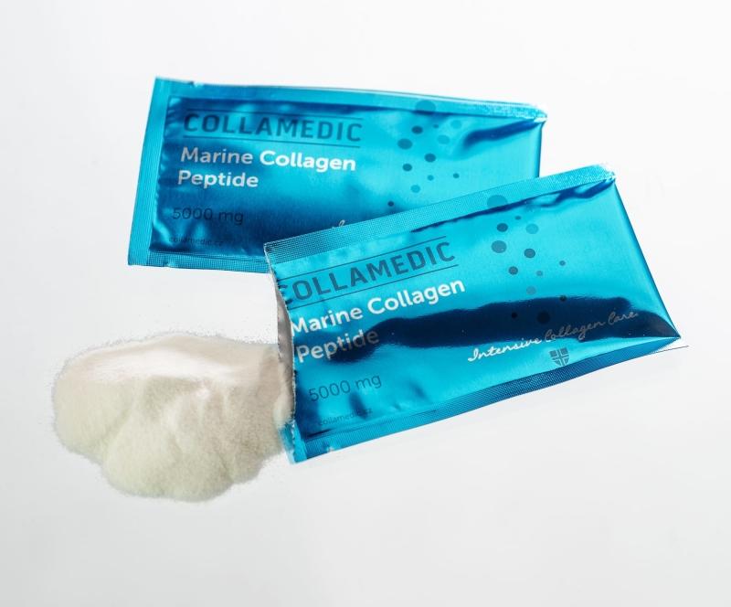 Bioaktivní mořský kolagenový prášek Collamedic (2 ks) + Body Milk – akční sada