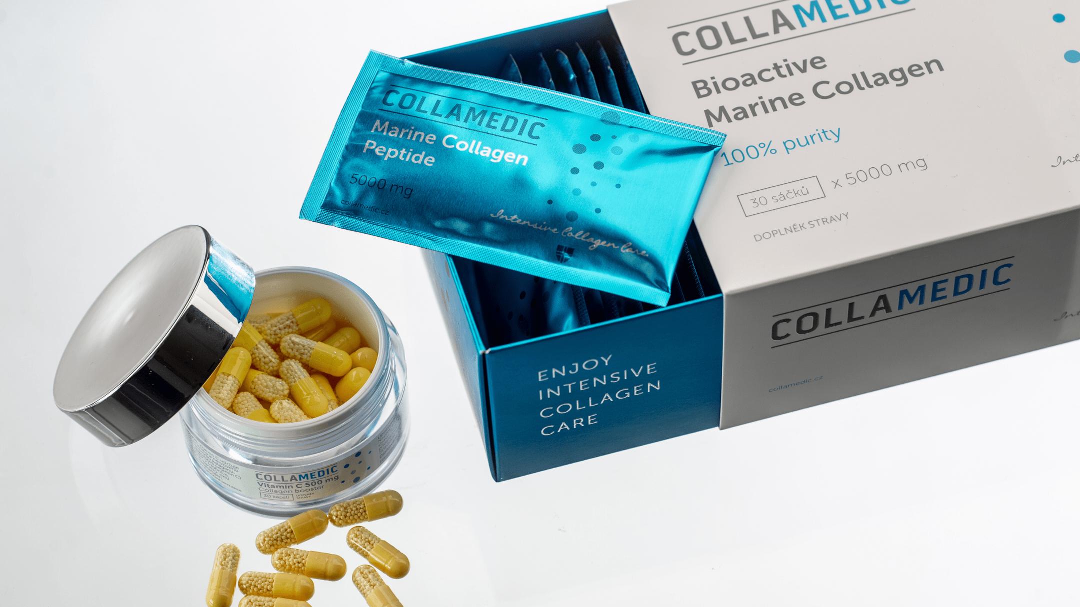 Vitamín C Collagen Booster